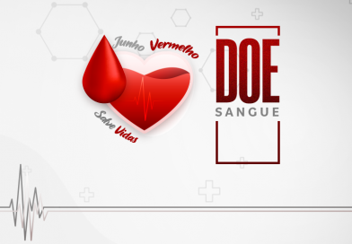 JUNHO VERMELHO | Doar sangue é um ato de amor. Atitude que salva vidas!