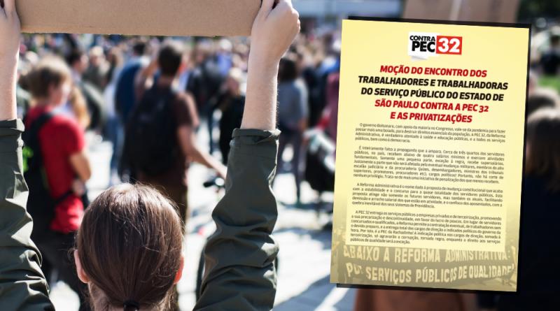 PEC 32 | Sindicato alerta toda a categoria para os perigos da Reforma Administrativa